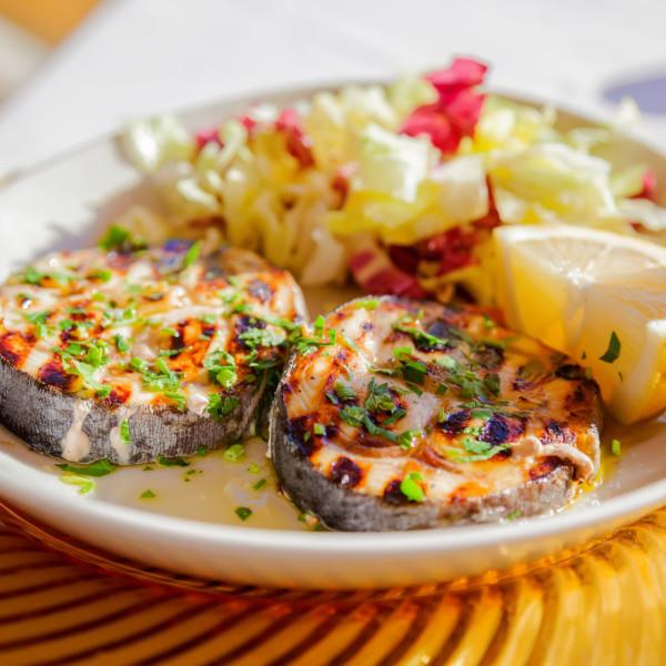 Swordfish Steaks Skin-On