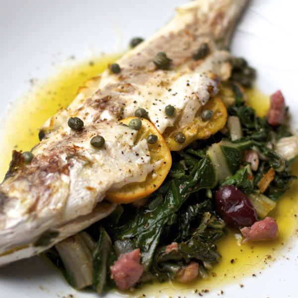 Branzino Mediterranean Sea Bass -  Whole, Gutted, Scaled